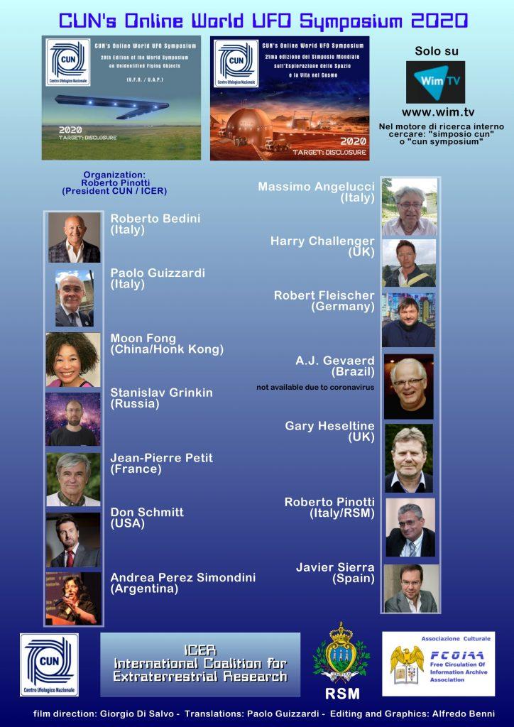 Online World UFO Symposium 2020
