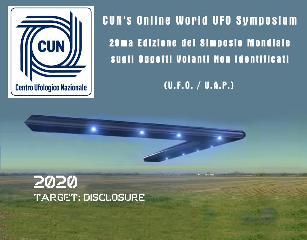 CUN's Online World UFO Symposium 2020